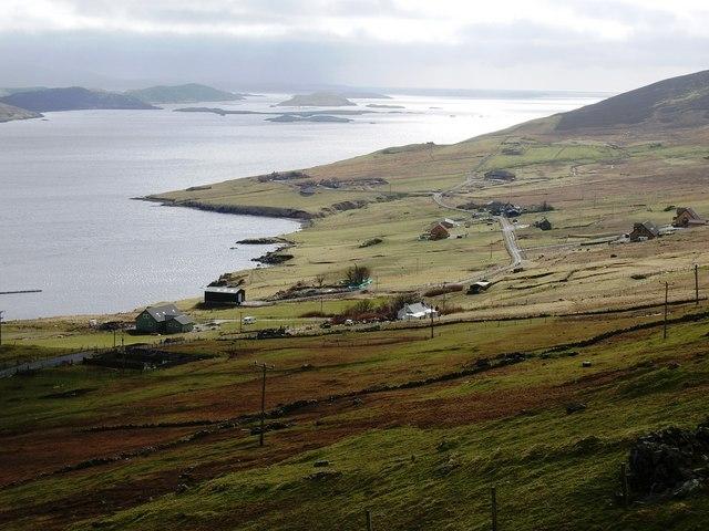 Cott, Weisdale Voe, Shetland