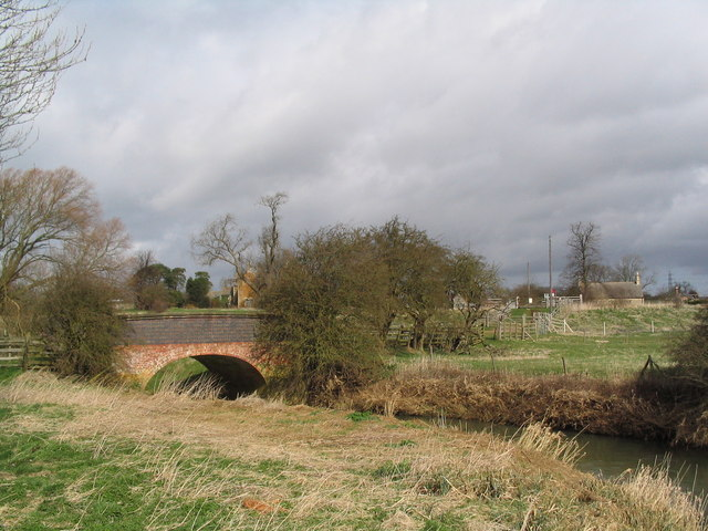Bridge over River Eye at Brentingby