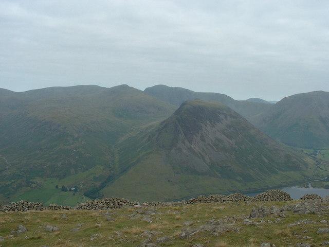 Looking  towards Wasdale Head