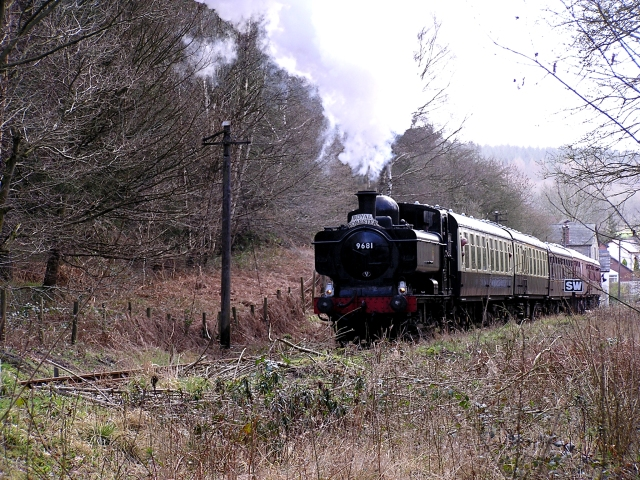 Steaming to Parkend