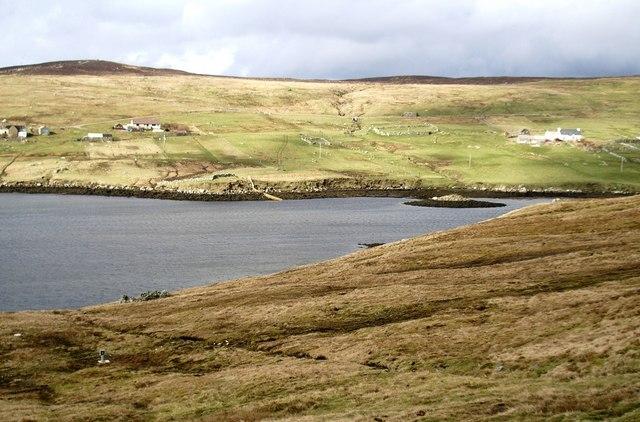 East Burra Firth, Aith Voe, Shetland
