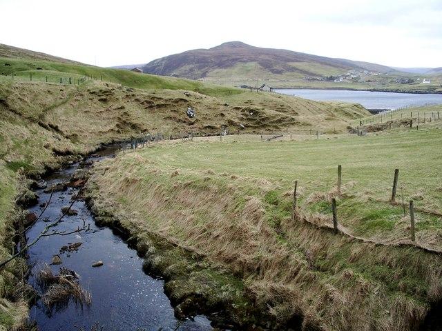 Burn of Kirkhouse, Shetland
