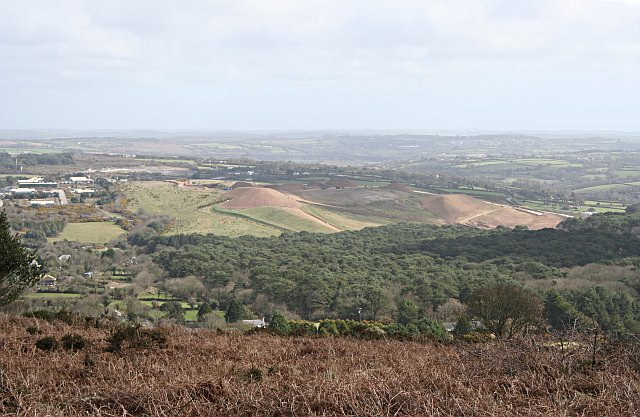 View from the Eastern Slope of Carn Marth