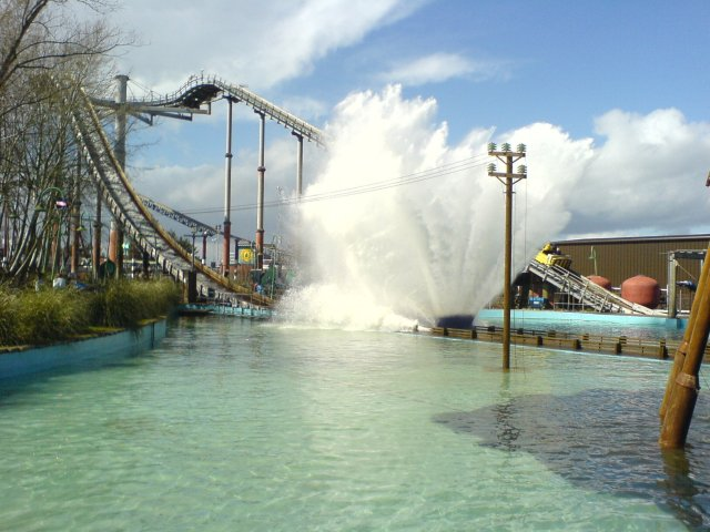 Thorpe Park's Tidal Wave dates back to when the park was predominantly a