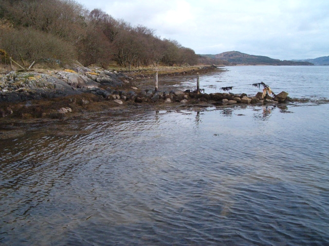 Boundary in the loch