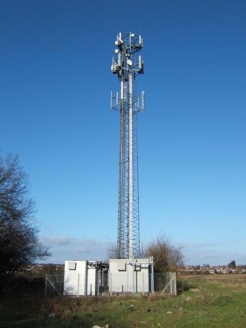Phone Mast Near Ifield Court