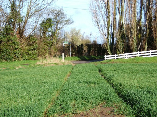 Footpath to Ifield Court