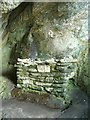 NR7576 : Altar in St Columba's Cave by Patrick Mackie
