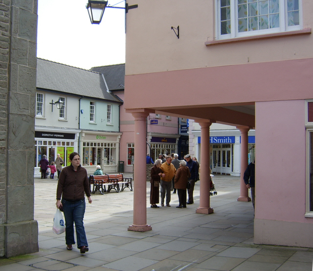 Bethel Square, Brecon