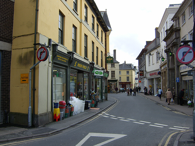 High Street, Brecon