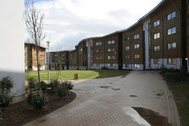 Wedderburn Accommodation Block at Royal Holloway University