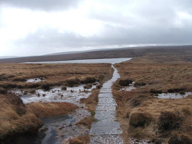 Black Moss Reservoir.