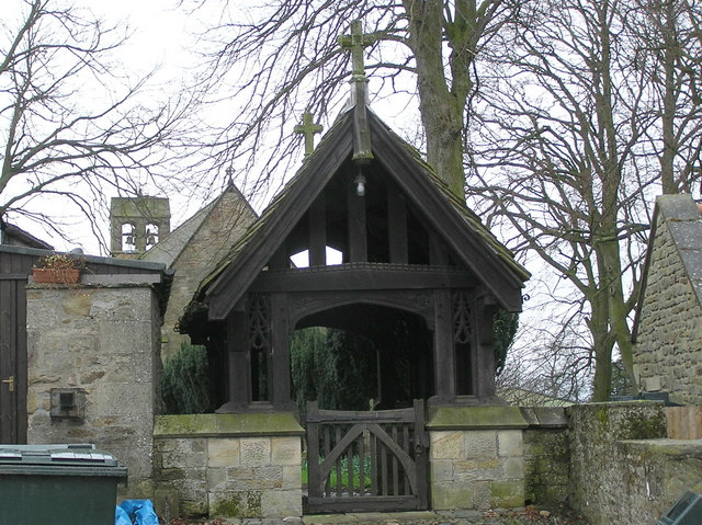 Lych Gate : St. Mary : Hutton Magna.