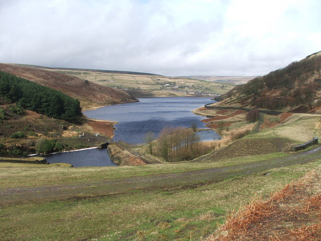 Butterley Reservoir.