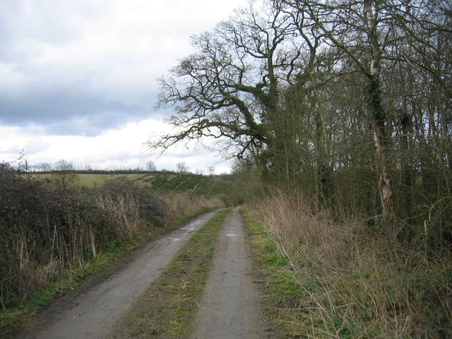Driveway to Potash Farm