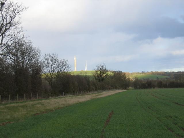 View east towards Blackdown