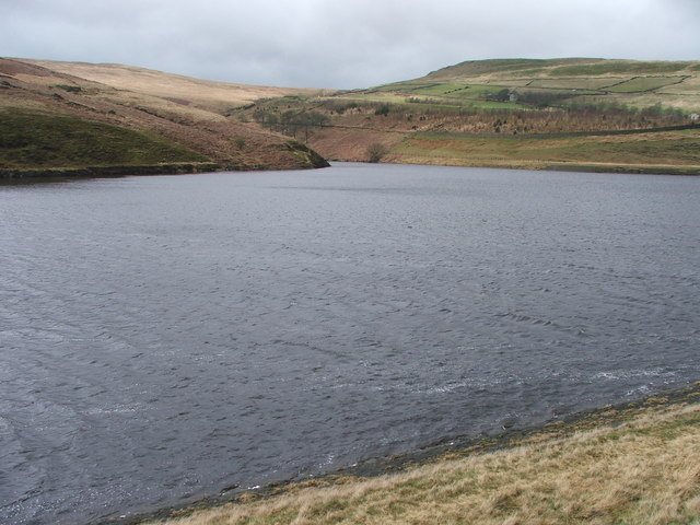 North western side of Butterley reservoir.