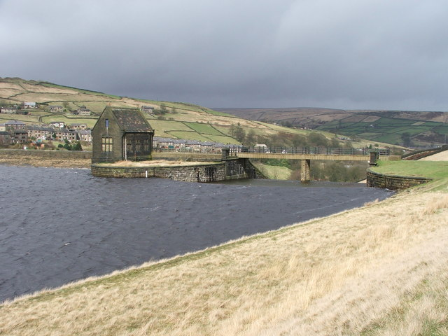 Butterley reservoir outflow.