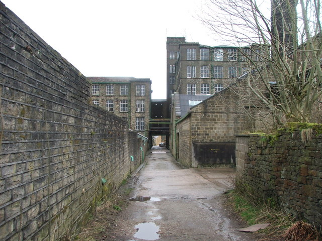 Bank Bottom Mills, Marsden.