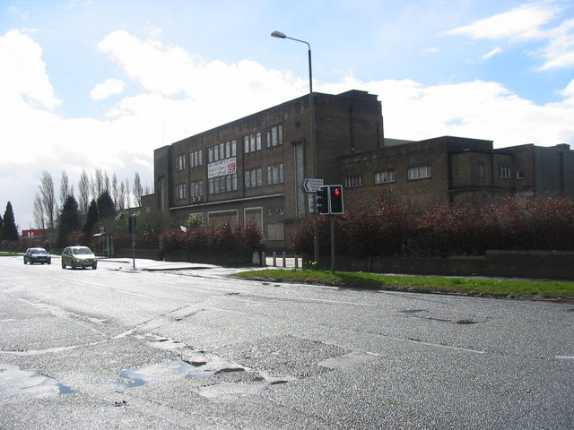 Disused Factory near Alfreton