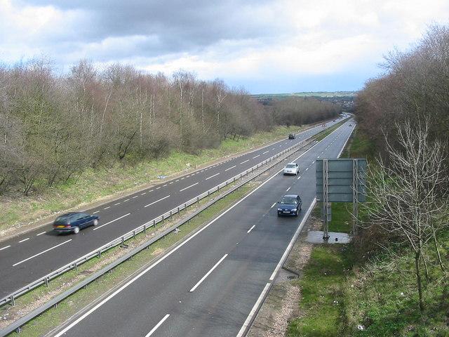 A38 near South Normanton