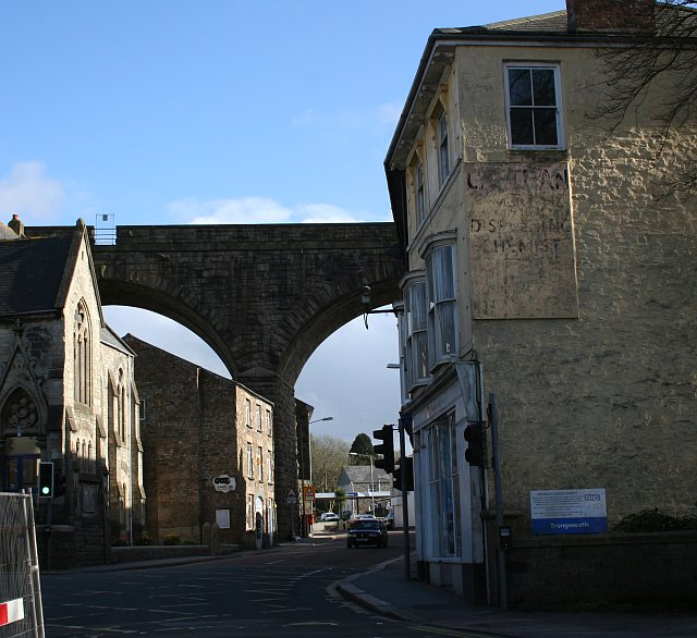 Penryn Street and Redruth Viaduct