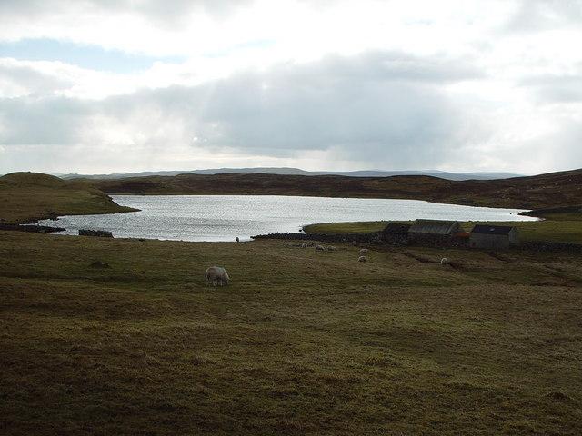 Loch of Sandwick, Whalsay, Shetland