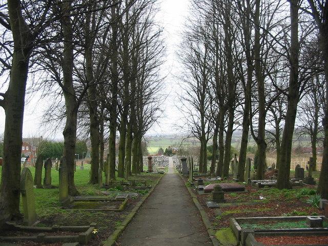 South Normanton churchyard