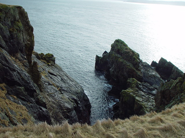 Stack of Long Geo, Clett Head, Whalsay, Shetland