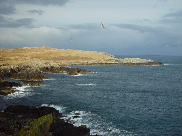 Brei Wick and Meo Ness, Whalsay, Shetland
