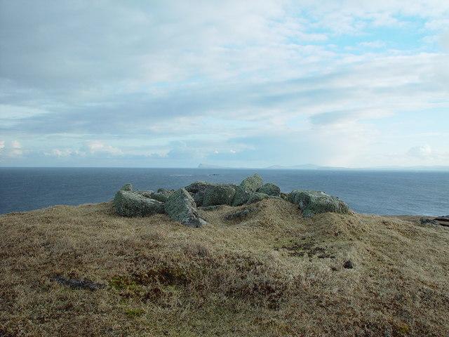 Ward of Hevdafield, Whalsay, Shetland