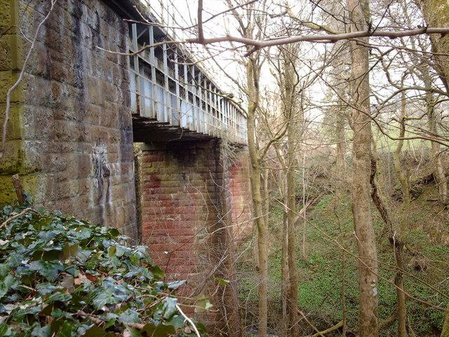 Railway viaduct in Dunrod Glen