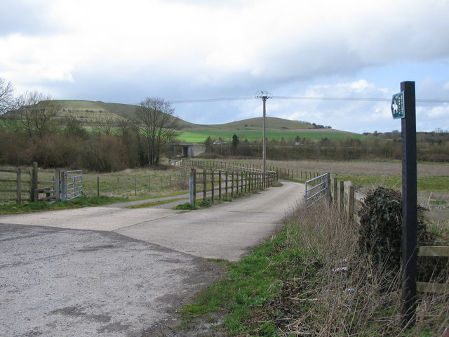Bridle Path from Bugley