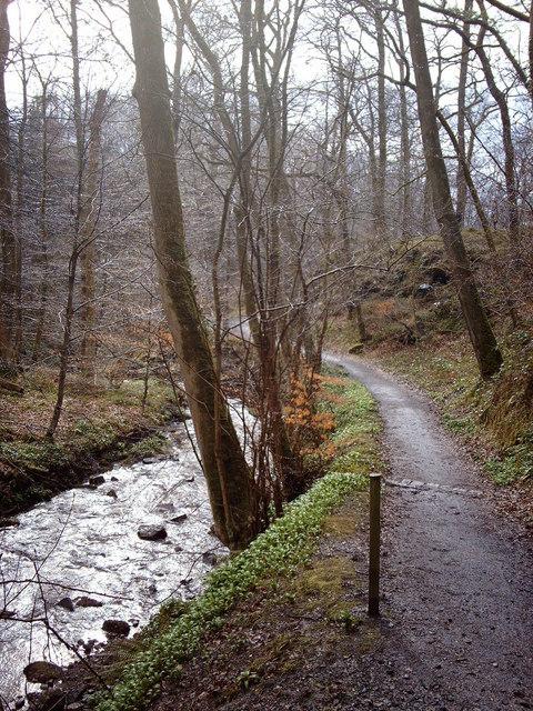 Daff Glen footpath