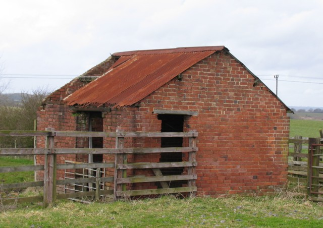 Derelict Stable or Store near to Burley-on-the-Hill