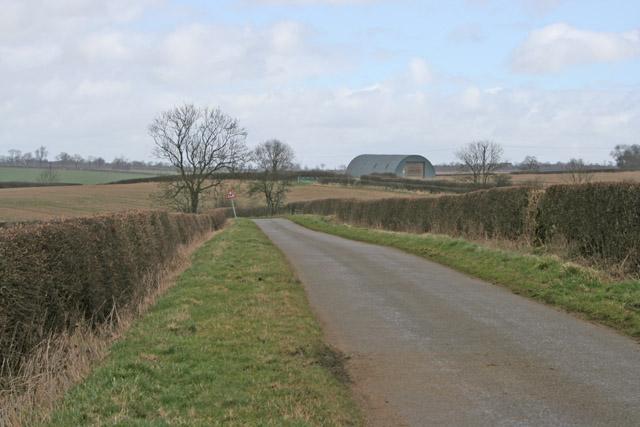 Country Lane near Wymondham