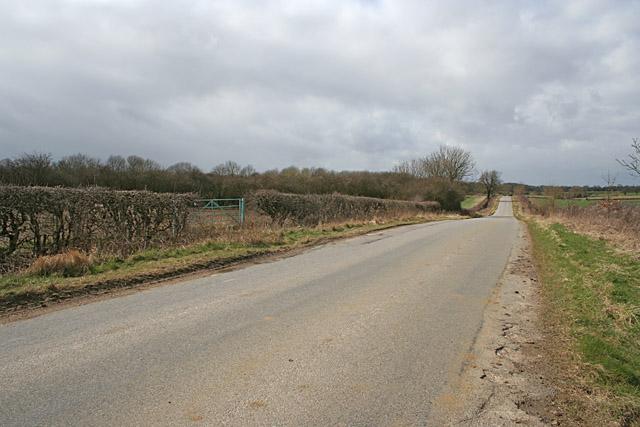 Mill Lane near Thistleton
