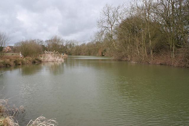 Fishing Lake at Market Overton