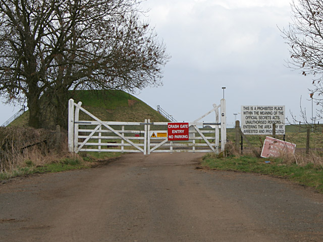 Crash Gate on Pinfold Lane