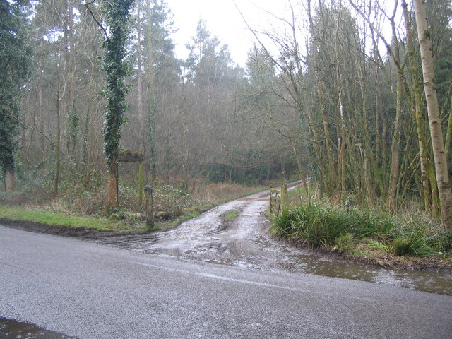 The track to Keepers Cottage