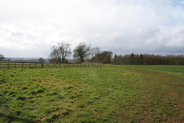Farmland at Burley, near Oakham