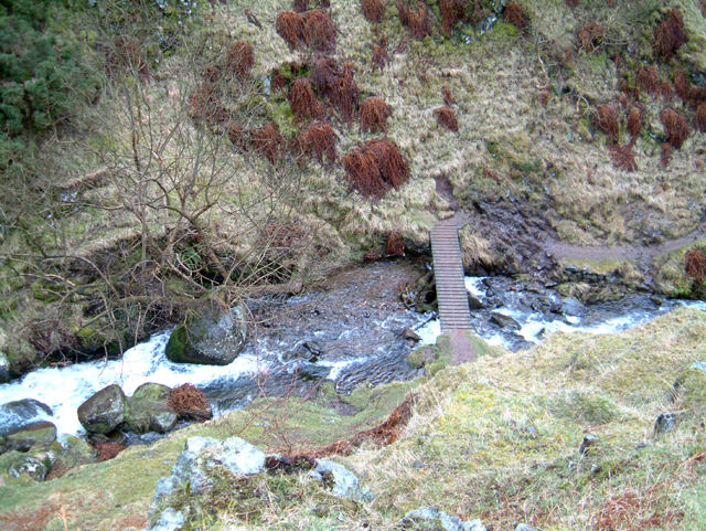 Bridge over Gannel Burn