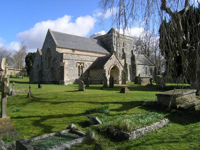 Tilshead, St Thomas a Becket, Wiltshire