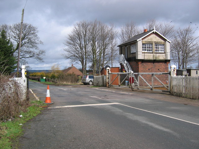 Sherburn Level Crossing