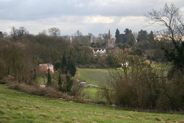 Linton village and St Nicholas Church
