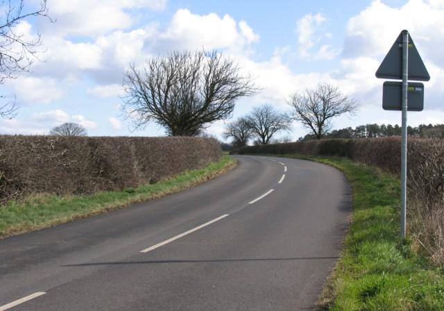 Twyford Road near John O'Gaunt