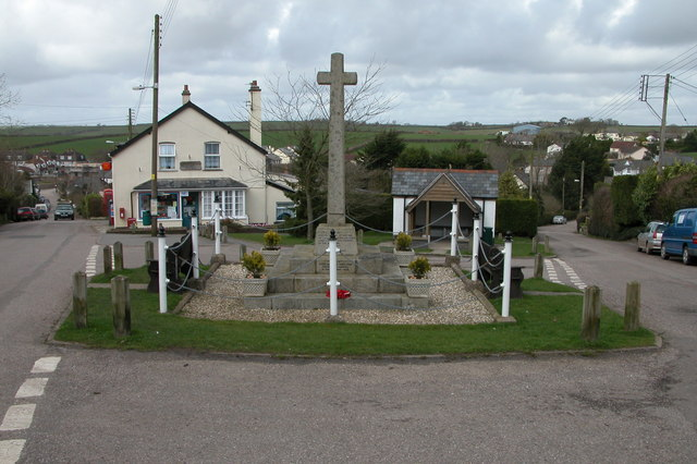 War Memorial, Morchard Bishop