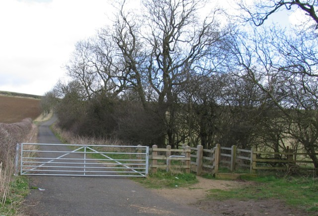 Sandy Lane near Gt Dalby