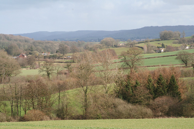 Stawley: the Tone valley near Kittisford