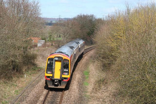 Talaton: Exeter – Salisbury railway
